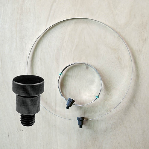 """Insect Net Ring (dia50 cm, 1/2"""" male connector)"""