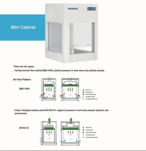 Mini cabinet (Laminar air flow)