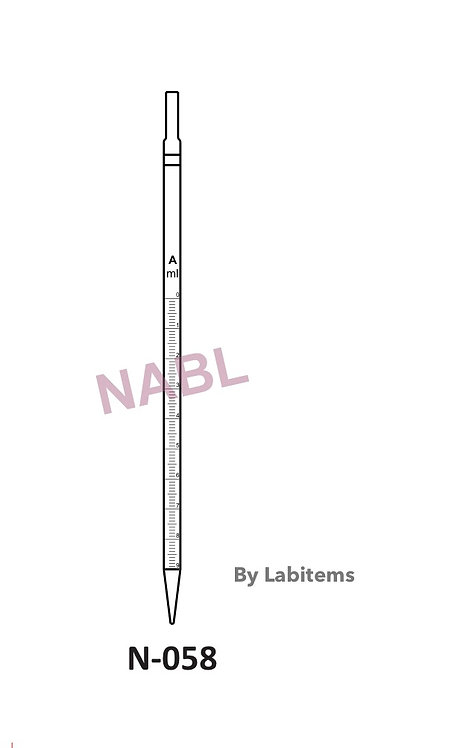 Pipettes, Measuring, Graduated, Mohr type