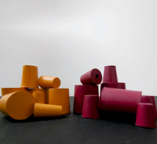 Assorted Rubber Corks: in Natural Rubber only