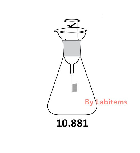 Schoinger Micro Combustion Flask