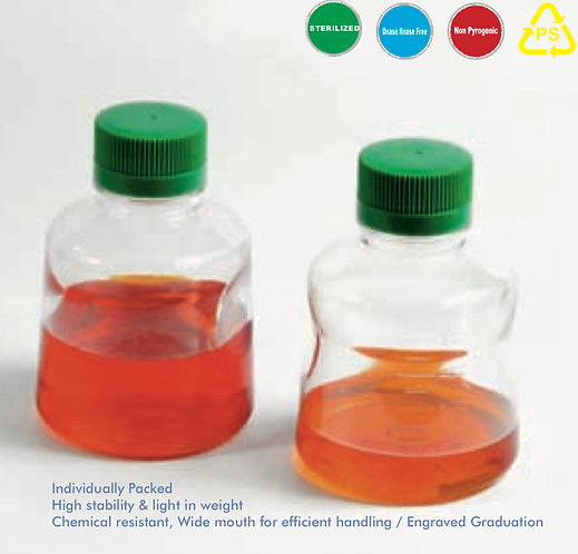 Reagent Solution Bottle Sterile