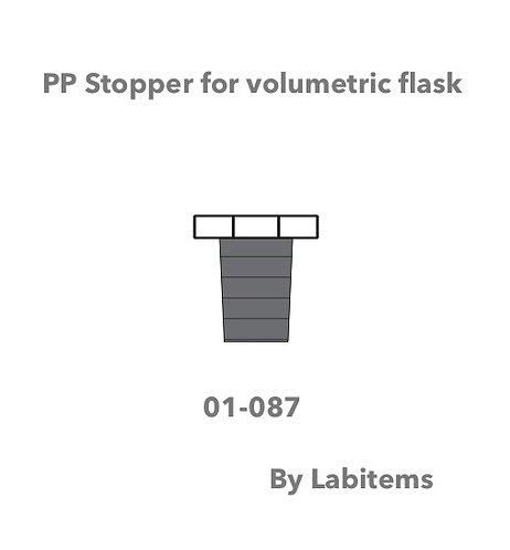 01.087 PTFE Stoppers for Volumetric Flasks