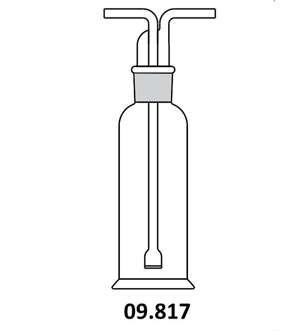 Gas washing bottles