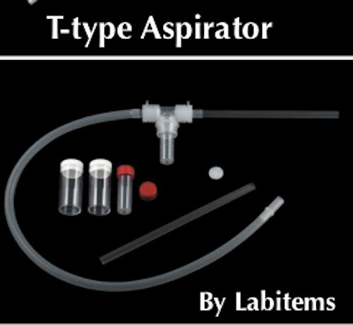 T type aspirator for insect collection