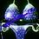 Thumbnail: Bikini Competition Suit Charlotte Purple