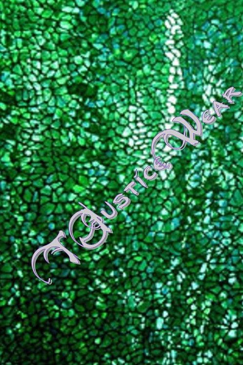 Green Blk Hologram