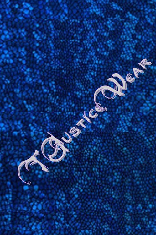 Royal Blue Hologram