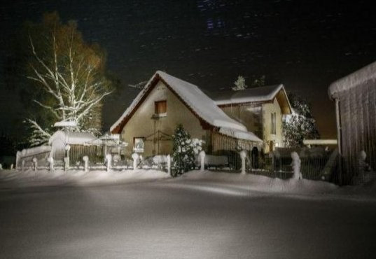 Aldon Lodge in the Snow