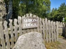 Aldon Lodge Entrance