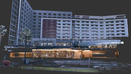 Marriott Hotel Laser Scan