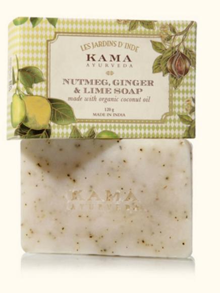 Nutmeg, Ginger & Lime Soap