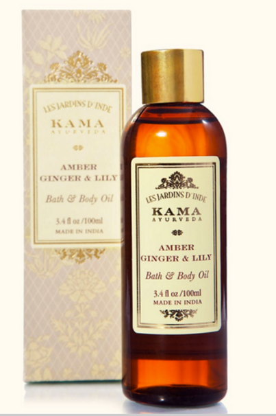 Amber, Ginger & Lilly Body + Bath Oil