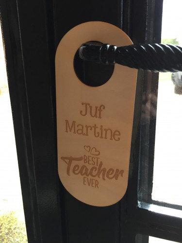 Deurhanger Juf ...Best Teacher Ever