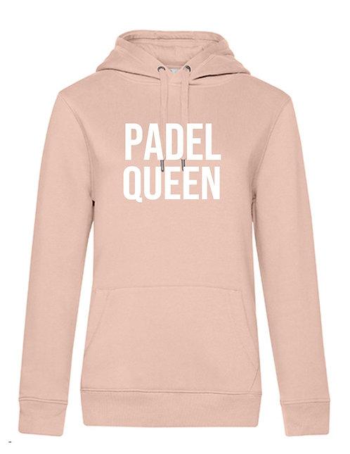 Hoodie Padel Queen of Padel Rebel in Soft rose