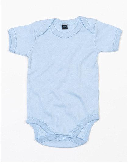Setje body (0-3 maand), muts en knuffeldoekje in lichtblauw