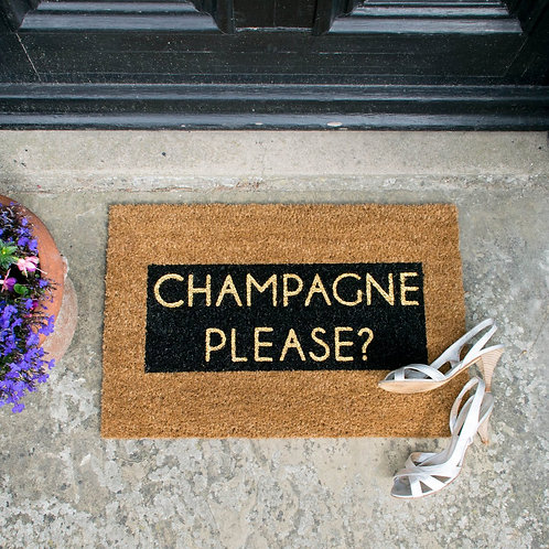 Champagne please? (glitter)