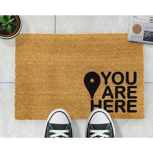 Deurmat You are here