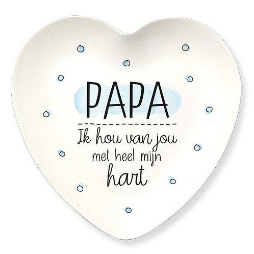 Bamboe bordjes Papa of Mama