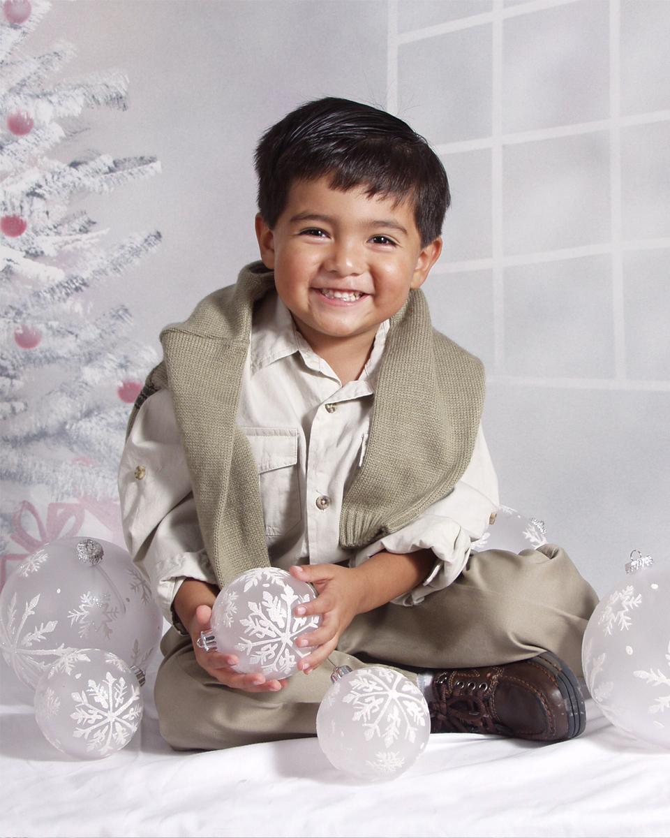 Christmas Boy 4x5