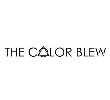 The Color Blew White Transparent Logo We