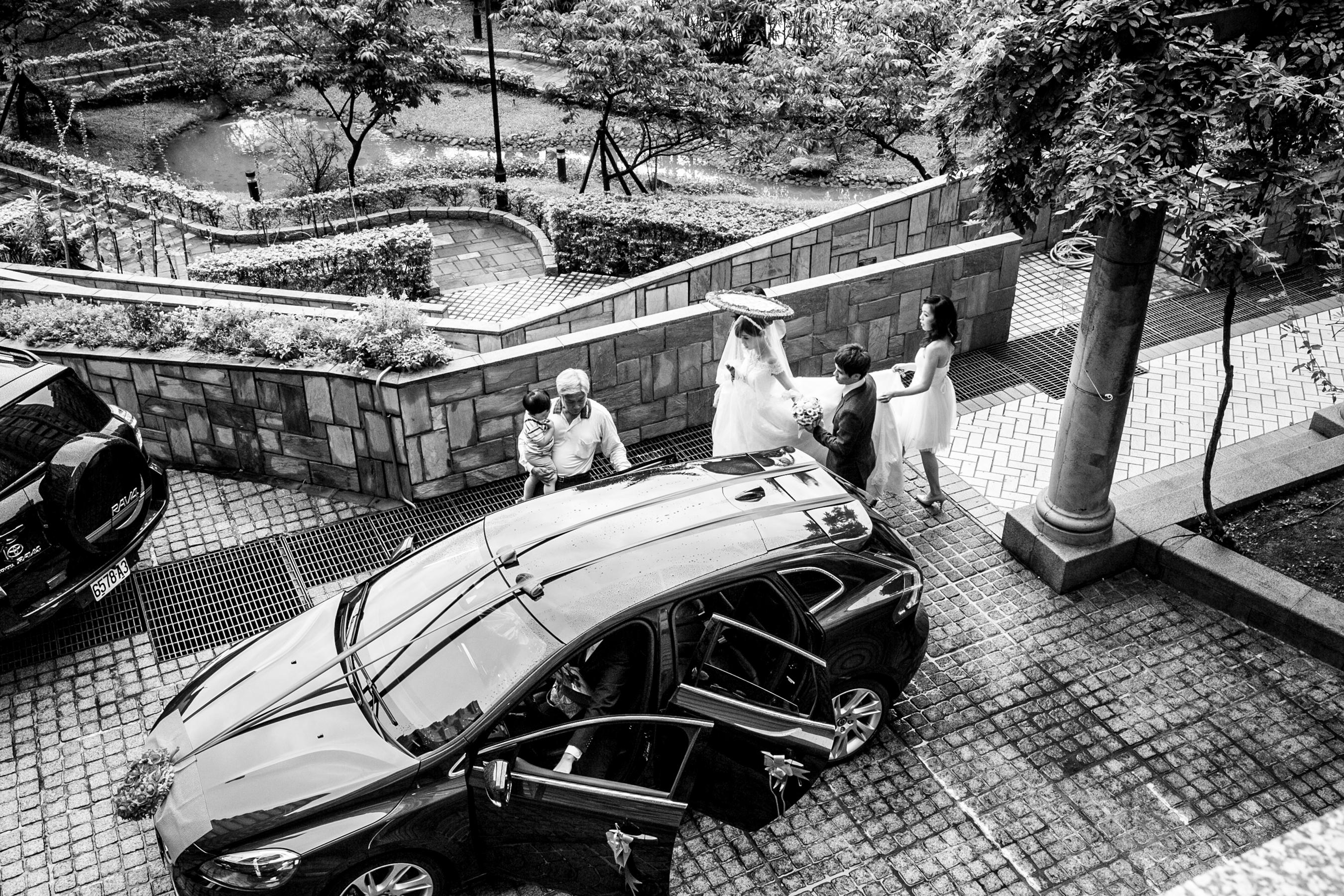 [婚禮紀實 婚攝] Wedding中和華漾大飯店