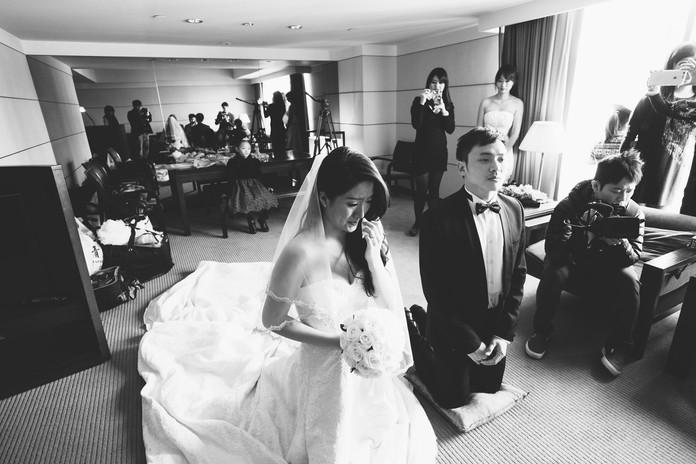 迎娶儀式+晚宴台北晶華 新人:JOHN & NIKI'S