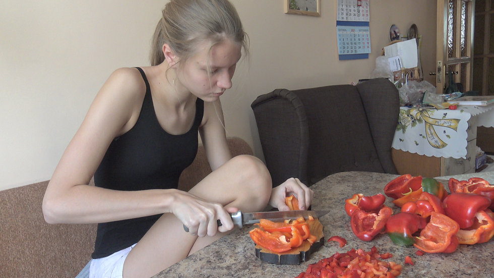 Cooking pepper