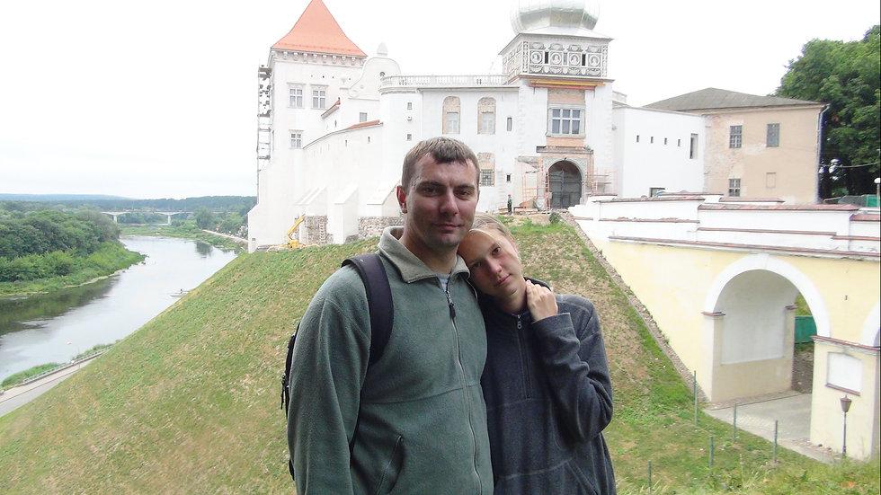 Morning walk in Grodno