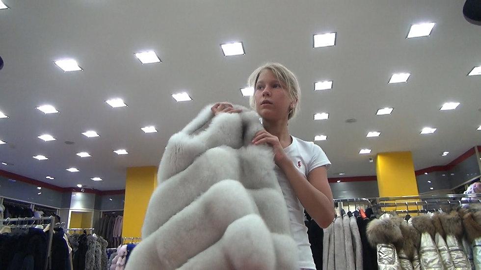 Мilanа in the furs