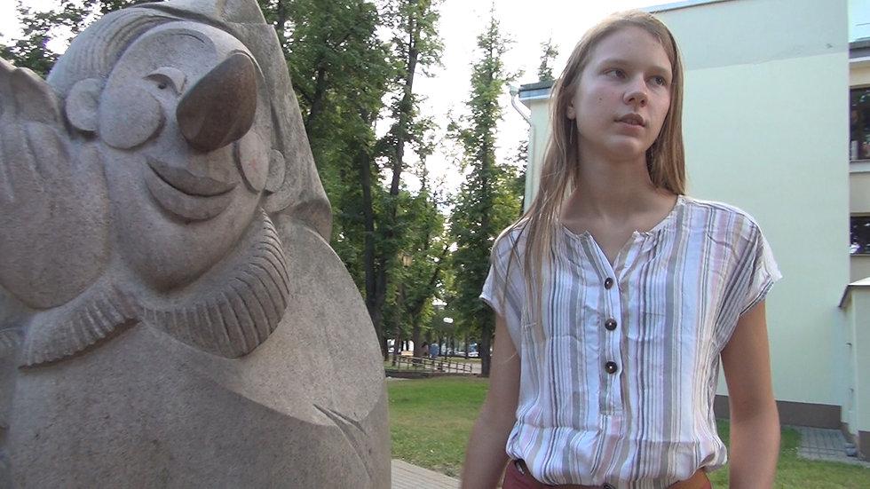 Rest in the park in Grodno