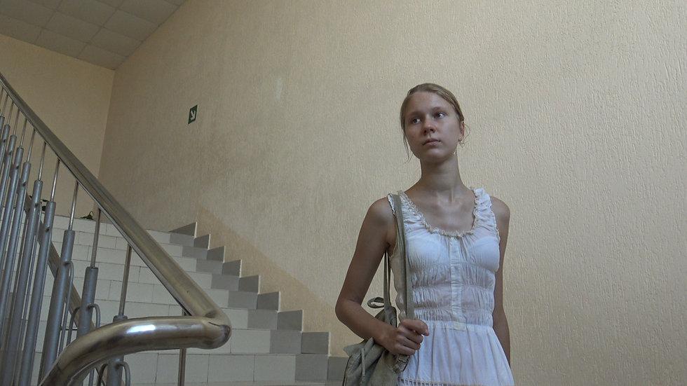Polesie Belarus. Walk around the town of Petrikov
