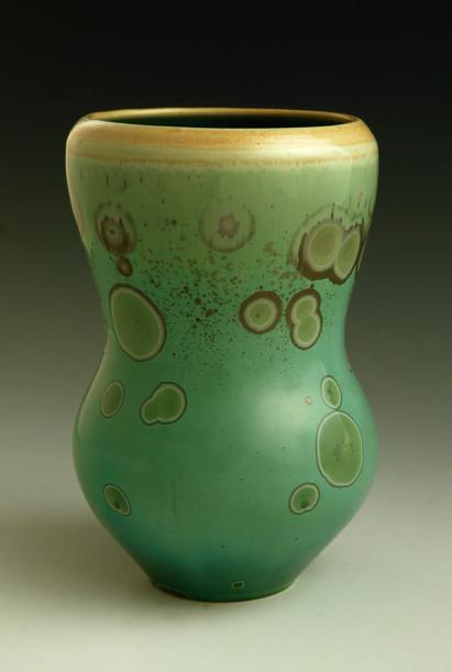 "Green Vase - 5 ¾"""