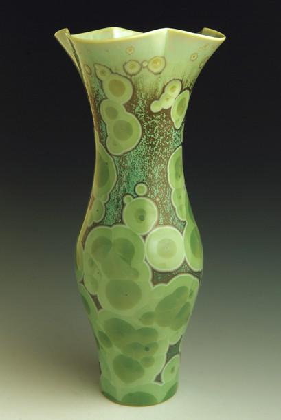 "Green Vase - 12"""