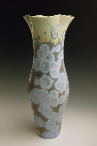 "Blue Vase - 13 ½"""