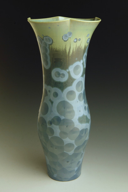 "Blue Vase - 12 ¾"""