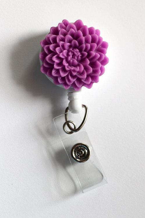 Chrysanthemum Badge Reel