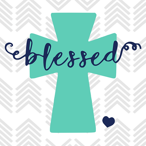 Blessed Decal