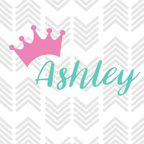 Crown Personalized Decal