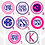 Thumbnail: Circle Monogram Decal