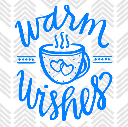 Warm Wishes Decal