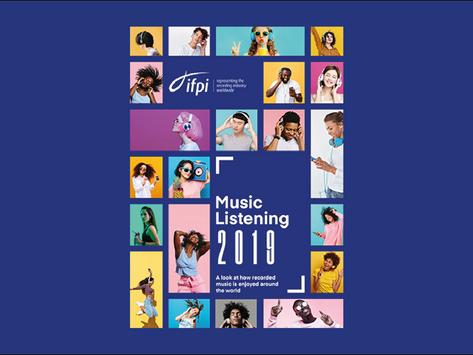 IFPI Music Listening Report 2019 veröffentlicht