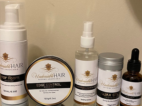 UndeniableHair Gold Package