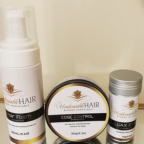 UndeniableHair Product Bundle Of 3