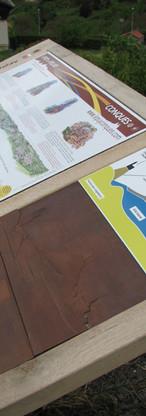 Plaque tactile du Puy en Velay