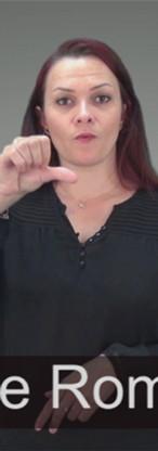 Vidéo en Langue des signes