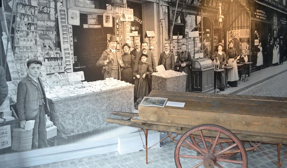Visite du musée adaptée par Braille & Culture