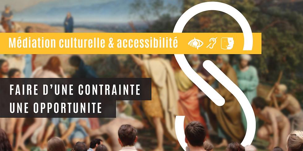 """Colloque """"Médiation culturelle & accessibilité"""""""