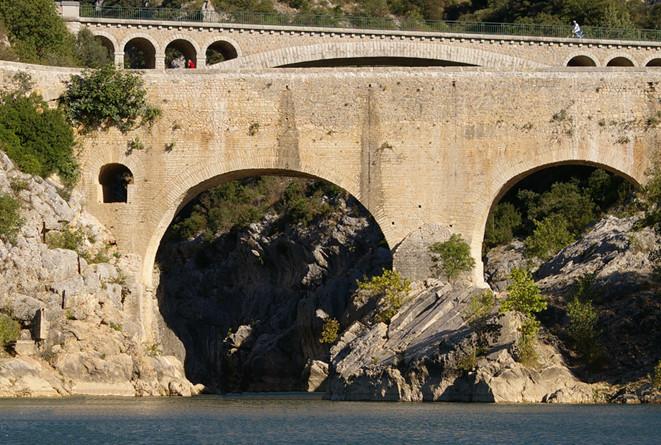 Visite du Pont du Diable adaptée par Braille & Culture