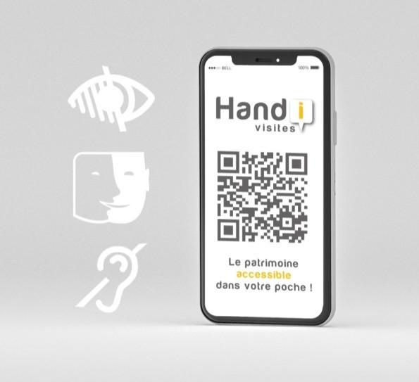 Visites accessibles à tous avec Handivisites par AcceSens